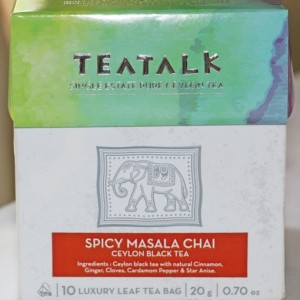 Masala Chai Pyramid Tea Bag Box