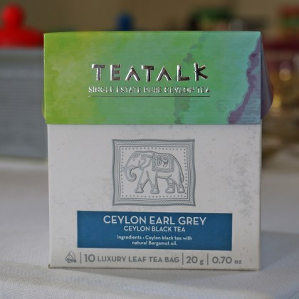 Ceylon Earl Grey Pyramid Tea Bag Box