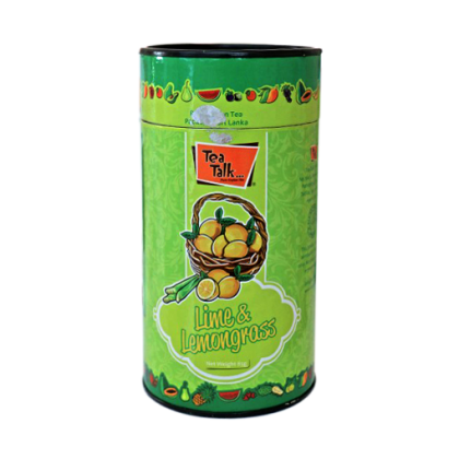 85g Lime and Lemon Grass  Tea Canister. Click for information.