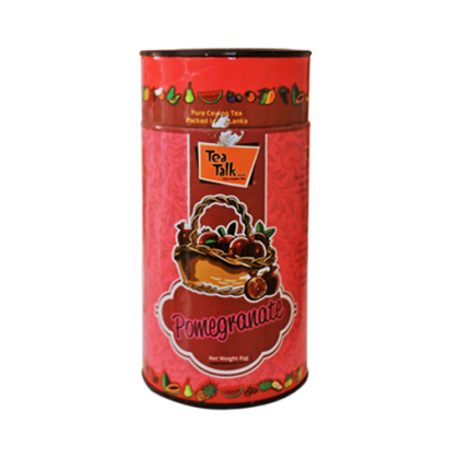 85g Pomegranate Tea Canister. Click for information.